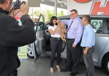 OBOL wins a Toyota Sienna van under the Toyota Motor Corp. campaign, 100 Cars for Good.