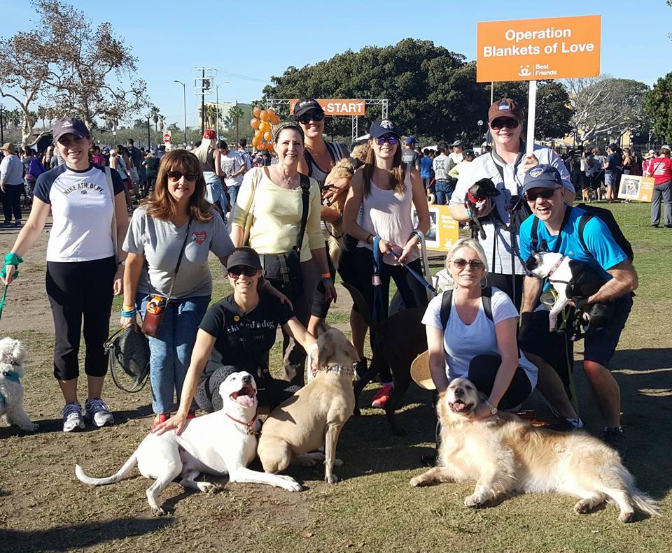 OBOL Friends join our Strut Your Mutt Fundraiser