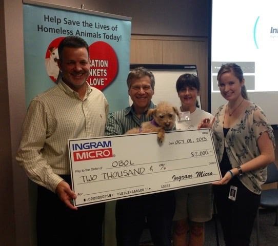 Employee Giving..Check to see  if your company can help us help the homeless animals, too!